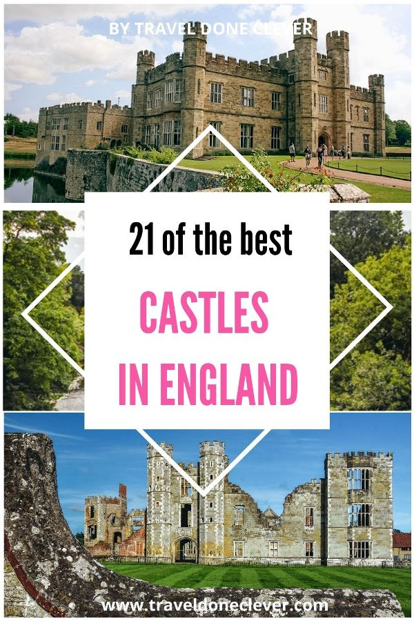 Uncover 21 of the best castles in England. Discover the famous fairytale castles and lesser-known fortresses which can be an unexpected surprise. Leeds Castle, Bodiam Castle, Cowdray Castle, Windsor Castle, St Michael's Mount, and many more.