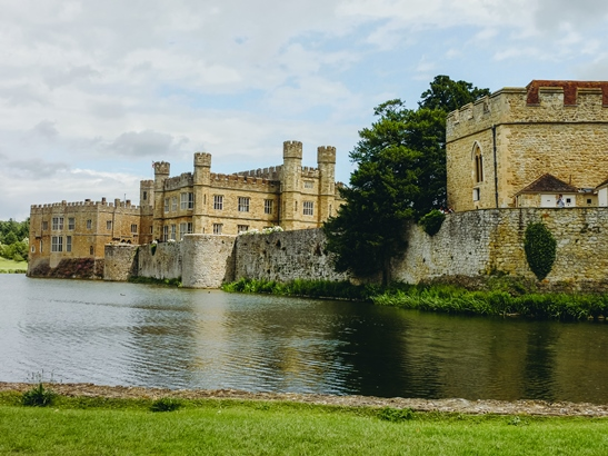 """British Castles: Leeds Castle is one of the best British Castles, because Henry VIII' first wife Catherine of Aragon and five other queens called Leeds Castle a home during its long history. Therefore, many people call Leeds Castle """"the Ladies Castle"""". It is one of the most famous castles in England."""