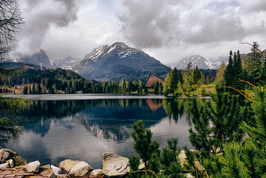 High Tatras Slovakia: Strbske Pleso is one of the most scenic places in the High Tatras in Slovakia. The second-largest glacial lake on the Slovak side of the High Tatras is one of the popular holiday spots. Also, Strbske Pleso is a symbol of the High Tatras.