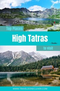 Tatra Mountains Hiking - 16 gorgeous places in the High Tatras in Slovakia