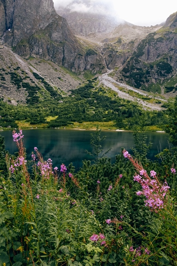 High Tatras: Zelene Pleso (Green Tarn) is one of the top attractions in the High Tatras in Slovakia.