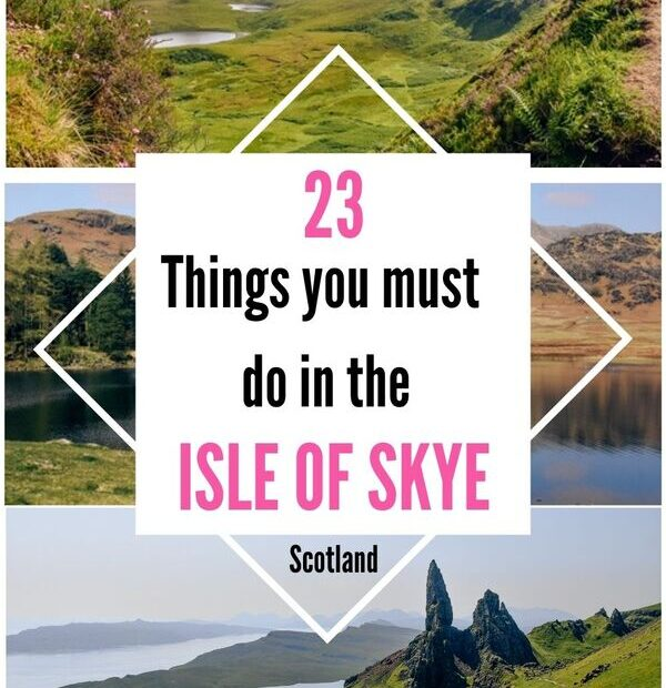 Top best things to do in the Isle of Skye in Scotland. Discover top Isle of Skye attractions and plan your perfect holidays in the UK. 23 things you cannot miss when road tripping the beautiful Isle of Skye.