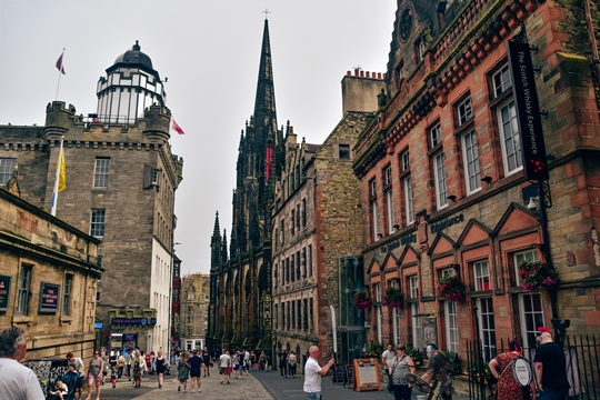 attractions in Edinburgh: Camera Obscura is one of the most popular attractions in Edinburgh because it has a collection of optical illusions, colourful puzzles and interactive exhibits. Also, Camera Obscura is one of the best places to visit in Edinburgh because it provides a unique way to see the city.