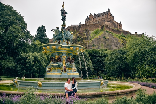 attractions in Edinburgh: Princes Street Gardens are one of the best places to visit in Edinburgh because it is the most popular park in the city. Princess Street Gardens are one of the popular attractions in Edinburgh because they offer an escape from the busy streets and beautiful views of the castle.