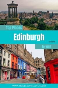 Uncover best attractions in Edinburgh, Scotland: Edinburgh Castle, the Old Town, underground town, Calton Hill and other things to see.