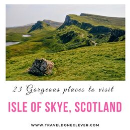 places to visit Isle of Skye