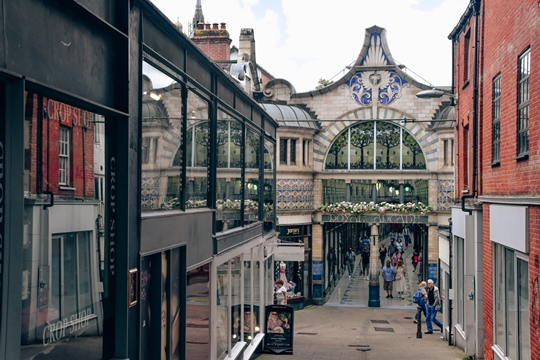 attractions in Norwich: The Royal Arcade is also one of the attractions in Norwich because it is one of the most beautiful covered shopping streets in the country. The Art Nouveau Royal Arcade is a Victorian shopping arcade with little shops and stores. It is a popular place for shopping in the city.